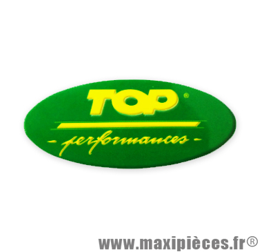 Prix discount ! Autocollant Top Performances (7,5 x 3 cm) à l'unité