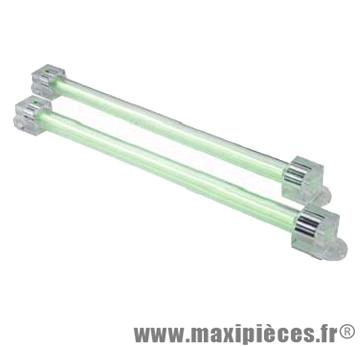 Déstockage ! Neon tube cathode d12 20cm vert avec transfo (x2)