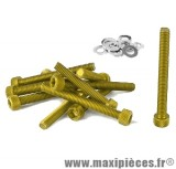 Déstockage ! Kit vis carter btr Or pour peugeot buxy trekker speedfight 1/2 (x11)