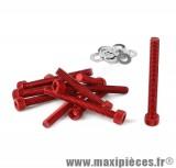 Déstockage ! Kit vis carter btr rouge pour peugeot buxy trekker speedfight 1/2 (x11)