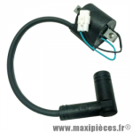 Bobine haut tension pour allumage Conti CRX 50cc neutrino rotor interne (AM6/Derbi) * Déstockage !
