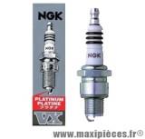 Destockage ! bougie platinum/platine ngk b9hvx pour la majorité des moteurs a air et liquide de configuration plus performante (bougie courte).