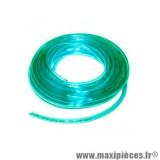 Durite double épaisseur 4mm Ariete vert transparent (intérieur 4mm par 7mm extérieur/vendu par 10 mètres) *Déstockage !