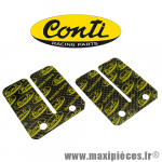 Lamelles carbone pour clapet Conti CHR ou origine scooter Piaggio zip typhoon nrg ntt fly Gilera dna * Déstockage !
