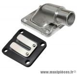 Pipe d'admission Ø15mm + clapet fibre pour Peugeot 103 sp mvl