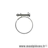 Collier pour pipe d'admission, durite de refroidissement Ø35 a 40 mm (x1) largeur 8m *Déstockage !