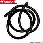 Durite double épaisseur 7mm Ariete noir (intérieur 7mm par 10mm extérieur/vendu par 1 mètre) *Déstockage !