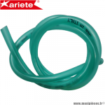 Durite double épaisseur 5.5mm Ariete vert transparent (intérieur 5.5mm par 10mm extérieur/vendu par 1 mètre) *Déstockage !