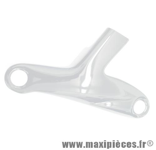 Déstockage ! Protection de fourche BCD couleur blanc pour Peugeot Speedfight 1 et 2