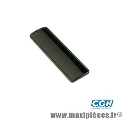 prix discount ! plaque cache numéro de cadre noir adaptable booster nitro
