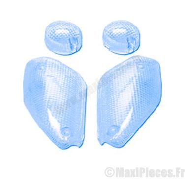 Déstockage ! kit cabochons clignotants bleu Mbk nitro aprés 1999