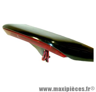 Déstockage ! Aileron noir avec feu stop intégré 19 leds booster spirit bw's