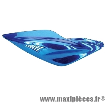 Déstockage ! Coque arrière droite bleu anodisé pour mbk nitro 1997-2012
