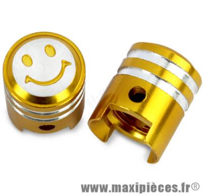 Prix discount ! Bouchon de valve en forme de piston or (paire)