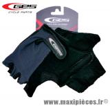 Gants mitaine été basic moto cross vélo cycliste vtt bmx gris/noir taille S (small) (Produits pour le sport/loisir)