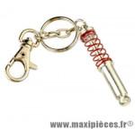 Porte clés amortisseur rouge
