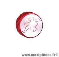 Déstockage ! Bouchon d'huile rouge Hebo pour motorisation derbi euro2/3
