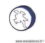 Déstockage ! Bouchon d'huile bleu Hebo pour motorisation derbi euro2/3