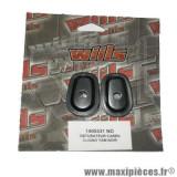Obturateur clignotant Yamaha 01 noir FZ6 FAZER YZF R6 R1 *Déstockage !