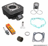 Kit cylindre piston bougie cage pour buxy zenith treeker tkr vivacity speedfight elyseo elystar looxor squab x-fight... (type origine fonte)