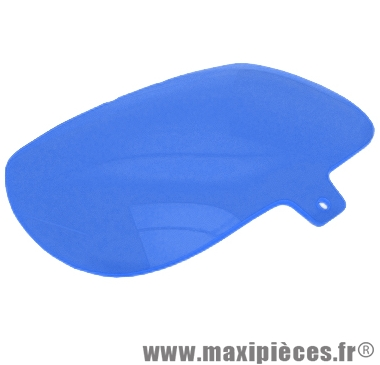 Destockage ! Bulle de phare bleu pour Mbk Booster,  Yamaha Bw's (avant 2004)