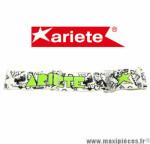 Bandeau élastique pour Masque/Lunette cross Ariete Vert fluo et blanc *Déstockage !