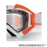 Déstockage ! Support fixation élastique pour Masque/Lunette cross Ariete Riding Crows orange