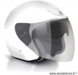 Déstockage ! Casque bol/jet GPA Lazio Taille XS (53-54 cm) blanc - double écran solaire