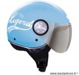 Déstockage ! Casque bol/demi-jet GPA Como 72's Taille L (59-60 cm) bleu