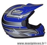 Prix discount ! Casque cross Atlas Taille L (59-60 cm) bleu