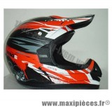 Déstockage ! Casque cross 2 Day TDH off road Taille XL (61-62 cm) rouge