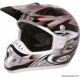 Déstockage ! Casque cross RC assault Taille XL (61-62 cm) gris