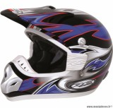Déstockage ! Casque cross RC assault Taille XL (61-62 cm) bleu