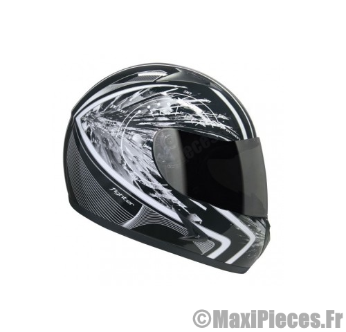 Casque integral hokkey noir taille S.