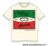 Tee-shirt manches courtes Italie Ariete Vintage taille S *Prix discount !