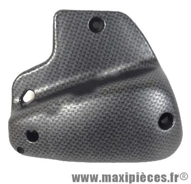 Prix discount ! Couvercle de filtre à air imitation carbone tressé mat pour peugeot speedfight trekker buxy