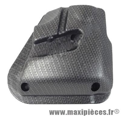 Prix discount ! Couvercle de filtre à air neuf imitation carbone tressé mat pour mbk nitro ovetto/yamaha neo's aerox