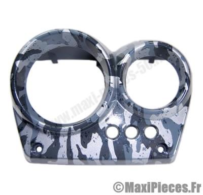 prix discount ! couvre compteur camouflage gris adaptable pour mbk nitro/yamaha aerox