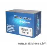 Prix spécial ! Chambre à air 8 pouces Deli Tire 3.50/4.00x8 - valve droite TR-13