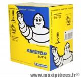 Chambre à air 18 pouces Michelin 18MC (2.50x18) - valve standard droite
