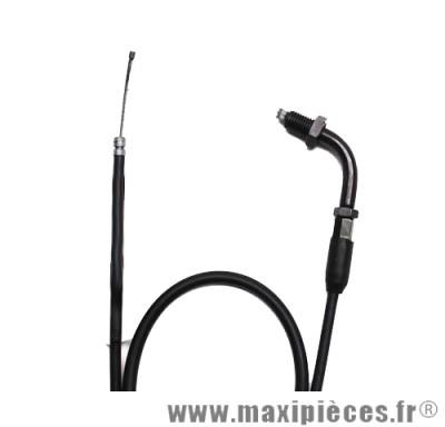 Déstockage ! Transmission de gaz / cable d'accelerateur de scooter pour mbk ovetto/ yamaha neos (partie supérieur) Vendu sans cache