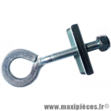 Tendeur de chaine (axe de roue 13mm) pour cyclomoteur 50 à boîte moto * Déstockage !