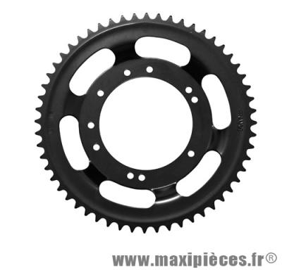 Déstockage ! couronne noir Ø94mm (intérieur) 50dts 10 trous pour peugeot 103 roue bâtons acier