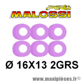 Déstockage ! galets variateur Malossi Ø16x13 poids 2grs pour scooter Peugeot, Gilera, Honda, Kymco, Piaggio, Pgo...