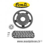 Kit chaine Conti pour derbi senda classic 2001/racer 2003 420 12x53 * Déstockage !