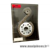 Déstockage ! Kit chaine ZK1 pour moto Daelim 125cc VT, VS, VL, VJF, VJ, VC
