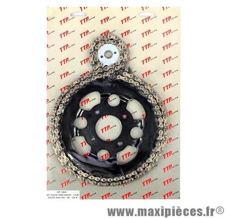 Déstockage ! Kit chaine ttp racing pour derbi phenix 13x48-420