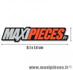 Autocollant Maxipièces couleur (6,1 x 1,4cm)