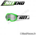 Masque cross Noend taille unique (3.6 SERIES) vert, blanc et noir