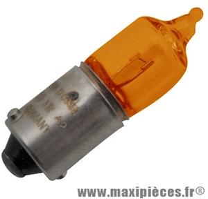Ampoule de clignotant orange 12V 23W BA9S (x1) scooter, moto, quad, ...